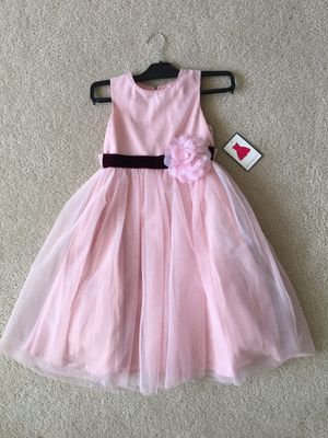 NEW girl spring summer wedding party special occasion flower girl dress size 6X for Sale in VLG O THE HLS, TX