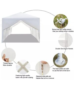 10x30 Patio Party Tent Wedding Canopy Heavy duty Outdoor with all Walls for Sale in Vallejo, CA