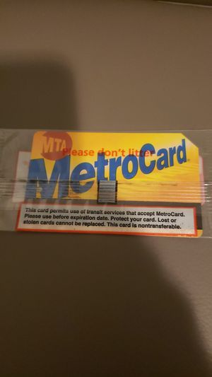 Monthly metrocard for Sale in Monsey, NY