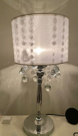 Crystal lamps x2 for Sale in Ashburn, VA