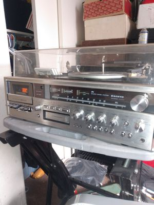 Vintage Sanyo JXT Home Stereo for Sale in Payson, AZ