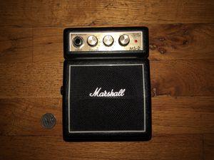 Marshall Ms-2 Mini Amplifier for Sale in Denver, CO