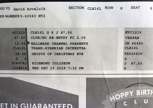 Trans Siberian Orchestra Tickets for Sale in Chesterfield, VA