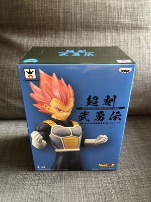 Vegeta Super Saiyan Red / GOD statue figure Dragon Ball Z Super Broly Movie Choukokubuyuuden Series for Sale in Anaheim, CA