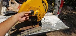 Dewalt 14 inch chop saw for Sale in Dallas, TX