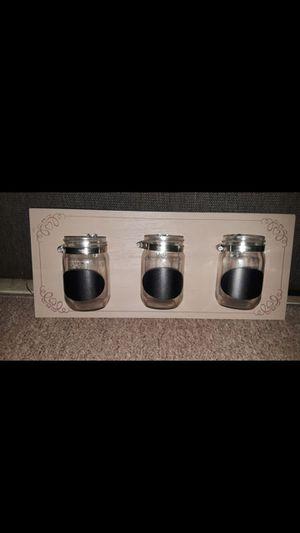 New Mason jar wall unit for Sale in Sylmar, CA