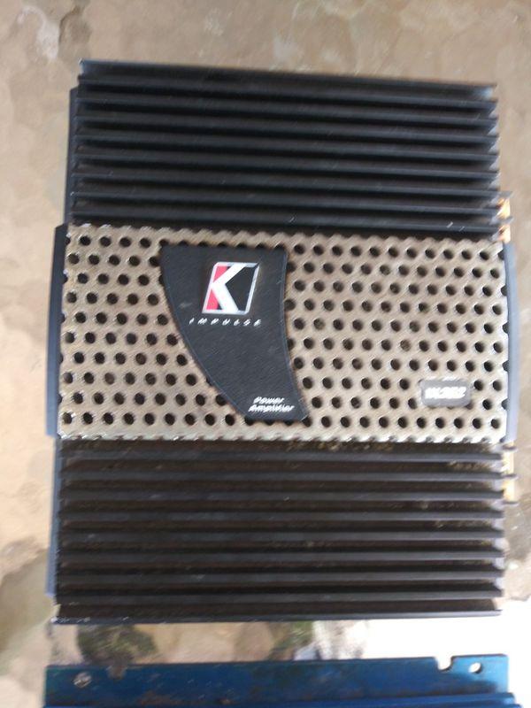 Kicker IX 252 highs amp