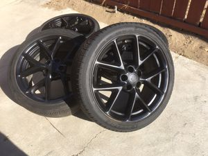 19 inch rims and tires $320 for Sale in Fontana, CA
