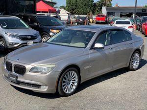 2009 BMW 7 Series 750Li , clean title, 4.4 Liter V8 that offers 400hp, millas 97k, camara de retroceso, interior de poel , techo solar, Y MUCHO MAS... for Sale in Long Beach, CA