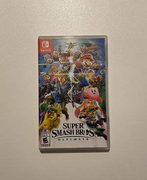 SUPER SMASH BROS GAME FOR NINTENDO SWITCH for Sale in Maple Valley, WA