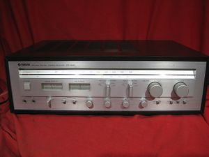 Vintage Yamaha CR-640 AM/FM Stereo Receiver for Sale in Renton, WA