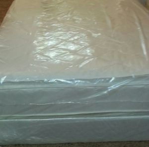 Cal king new pillow top thick bed for Sale in Lodi, CA