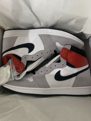 Air Jordan 1 Retro Smoke Grey Light for Sale in Manor, TX