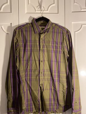 Men's Burberry button down, medium, authentic. for Sale in Miami Beach, FL