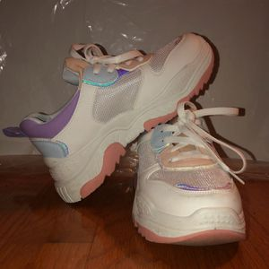 chunky pastel sneakers for Sale in Montgomery Village, MD