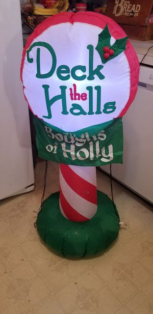 Christmas inflatable for Sale in MONTGMRY, IL