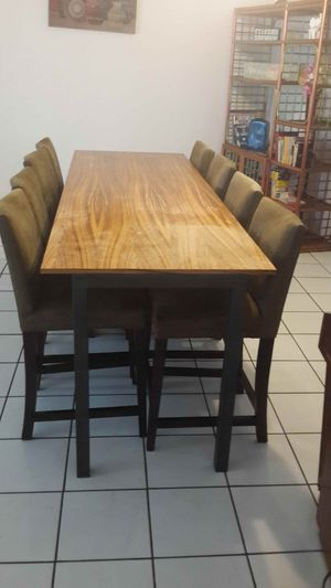 AlAll must go sitting for 8, great multi purpose table, full kitchen affair. for Sale in North Miami, FL