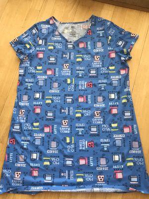 Secret Treasures Coffee-Themed Nightgown - L/XL (14-18) - Denim Blue - NEW for Sale in Phoenix, AZ