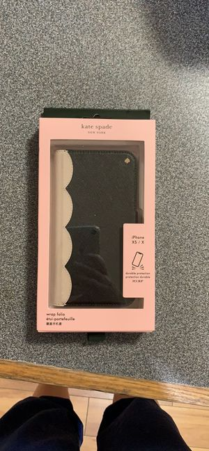 Kate Spade iPhone XS/X case and wallet for Sale in Galt, CA
