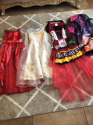 Disney dress up costumes $20 all for Sale in Tracy, CA