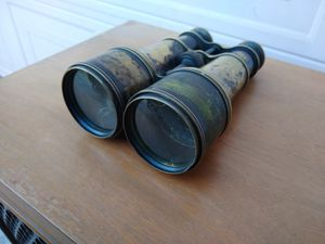 Vintage Antique Americana WW1 World War 1 US Signal Service Brass Binoculars for Sale in Patterson, CA