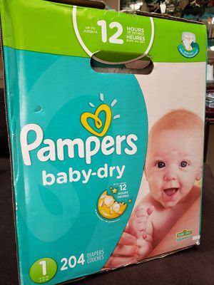 Pampers Diapers Size 1 for Sale in Palatine, IL