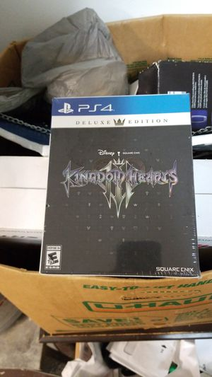 Kingdom hearts 3 deluxe edition sealed for Sale in Winter Springs, FL