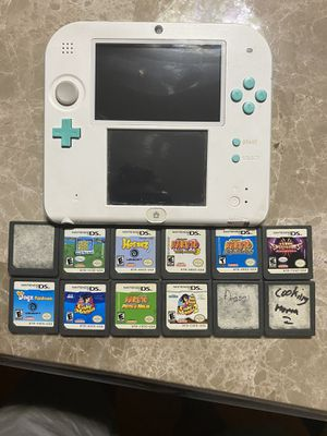 Nintendo 2DS with 14 games, AMAZING DEAL!! for Sale in Ypsilanti, MI