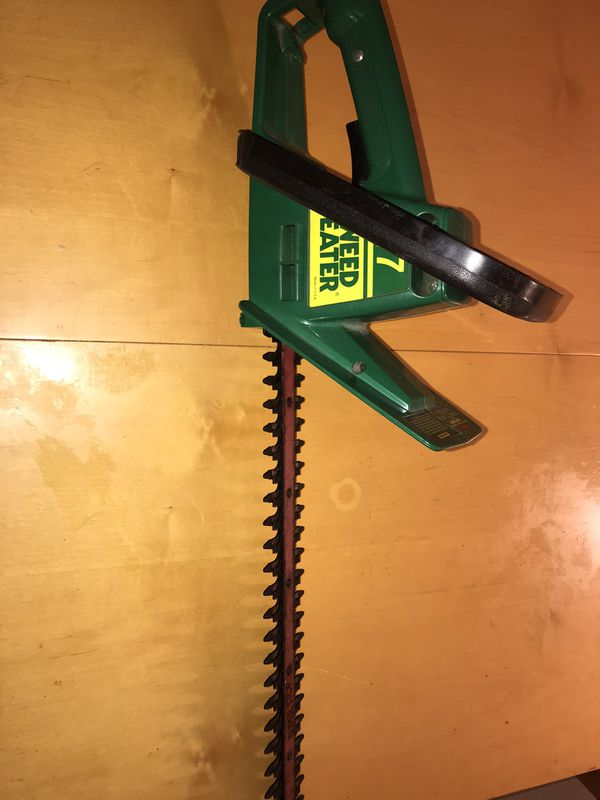 17 inch hedge trimmer