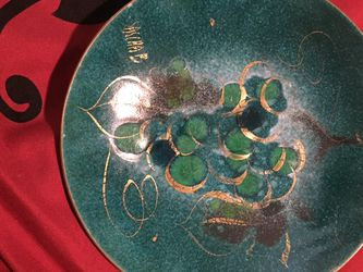 Copper Ashtray Signed By Artist for Sale in Crewe,  VA