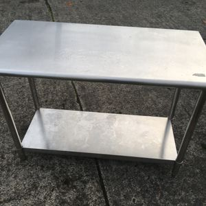 New Metal Table-2 Month Old for Sale in Portland, OR