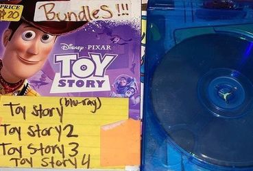 Toy Story Bundle (1-4) BLURAY only for Sale in Los Angeles,  CA