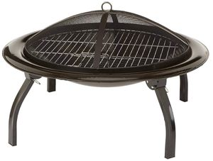 Portable Fire Pit Folding Grill BBQ Heater Fireplace Cooking Cookout Screen for Sale in Santa Fe, NM