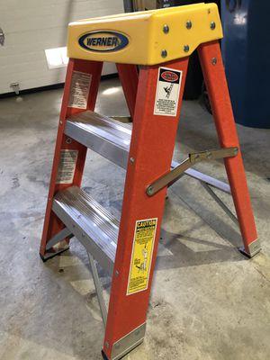 Werner 2 foot fiberglass ladder for Sale in Colma, CA