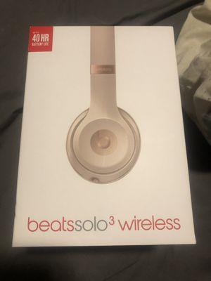 Beats by Dre Solo 3 wireless for Sale in Pigeon, MI