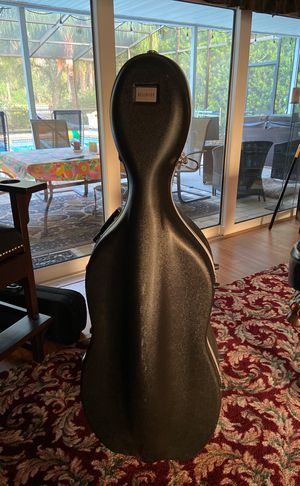Bellafina Hard Cello Case - protects musical instrument for Sale in Palm Harbor, FL