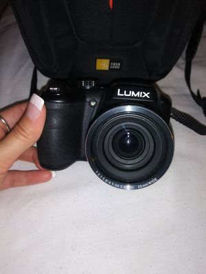 Lumix Camera, and carrier for Sale in Ocala, FL