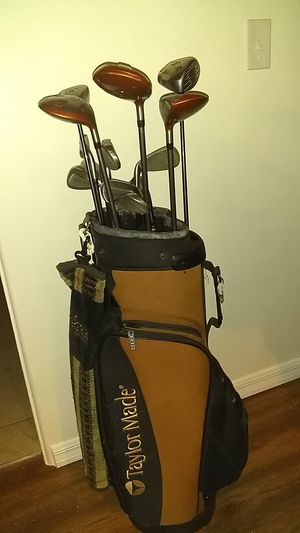 Taylor made burner golf clubs set w/ two Callaway drivers for Sale in Bradenton, FL