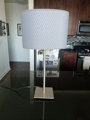 Gray table lamp for Sale in Chicago, IL