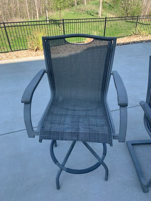 Bar height patio chairs for Sale in Shawnee, KS