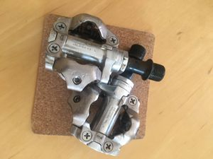 Mountain bike pedals shimano clipless md-540 for Sale in Mountain View, CA