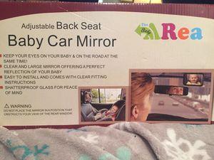 Adjustable Back Seat Baby Car Mirror for Sale in Denver, CO