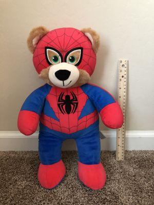 Kids Spiderman and Dash Plush Stuffed Toy for Sale in Bakersfield, CA