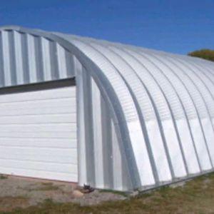 Steel Garage 2 Car Kit By Future Buildings for Sale in Browns Mills, NJ