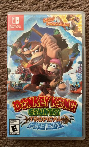 Nintendo switch donkey kong country for Sale in Chula Vista, CA