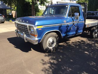 Work truck 1978 ford f 250 camper special for Sale in Vancouver,  WA