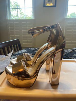 Rose gold heels for Sale in Ellicott City, MD