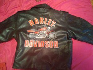A Harley Davidson jacket for kids for Sale in Modesto, CA