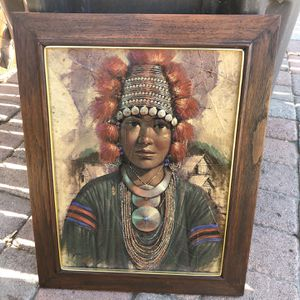 Indian Picture for Sale in Riverside, CA