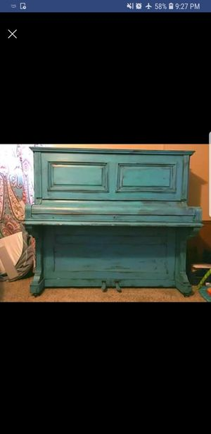 Teal Rustic Gutted Piano for Sale in Derby, KS
